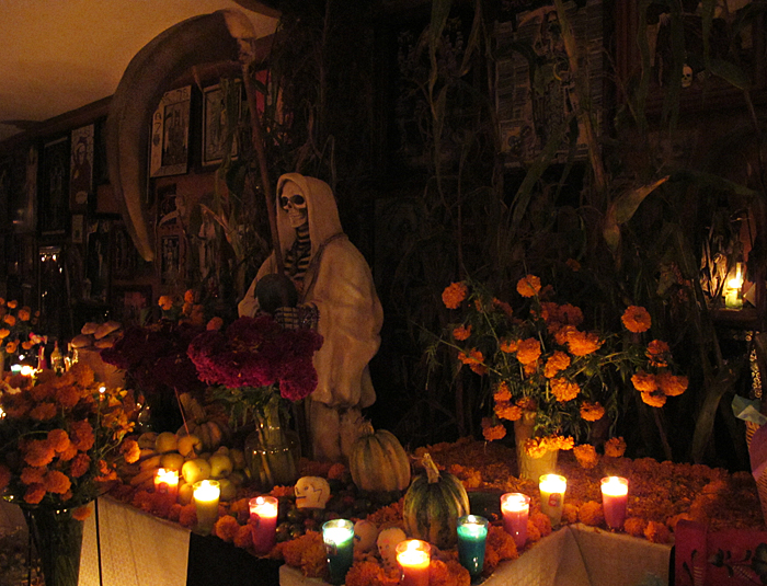 Muertos La Santa Muerte
