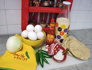 Chilaquiles Ingredients 1