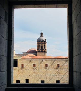 Santo Domingo Through the Window