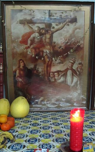 Altar Casera Preciosa Sangre de Cristo