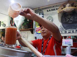 Pulque sipse