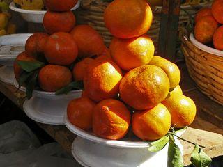 Oaxaca Mercado 20 de noviembre Mandarinas