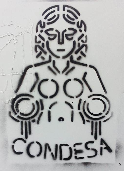 Condesa Wall Stencil Jugs
