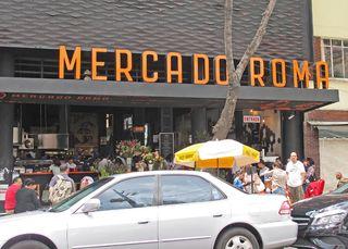 Mercado Roma Fachada