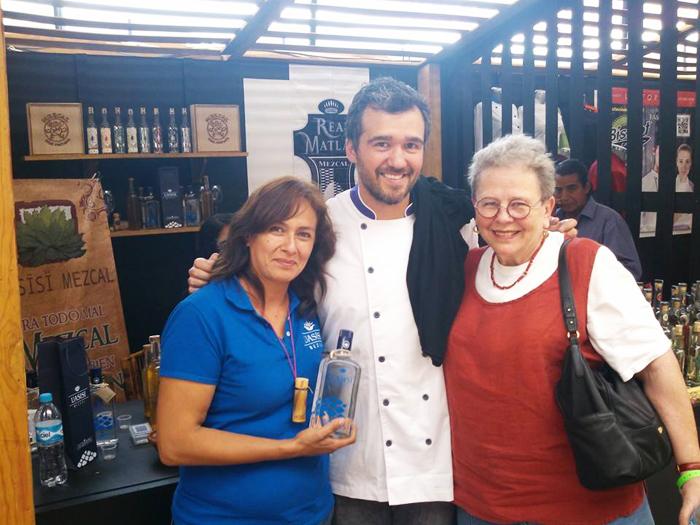 Cristina con Maira y Luis Robledo Morelia en Boca May 2014