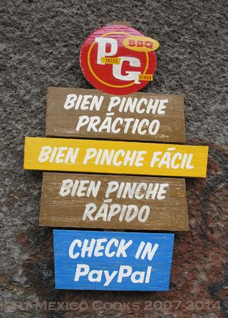 Pinche Gringo Pay Options