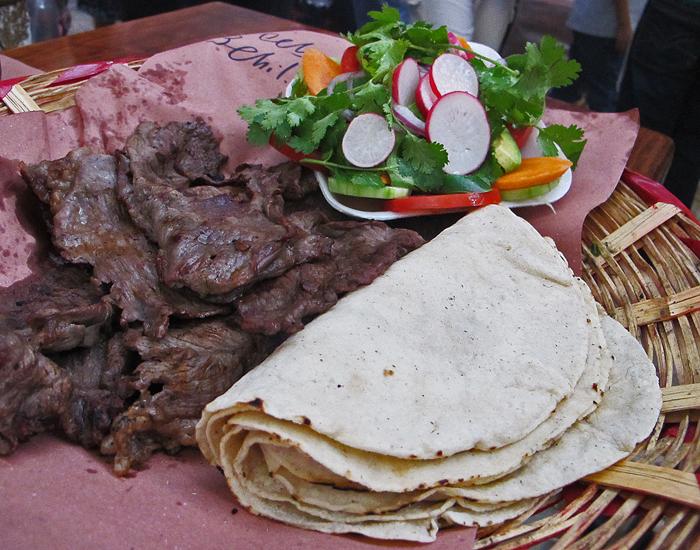 Oaxaca Carne Asada Mercado 20 de noviembre
