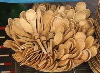 Wooden Spoons Pine