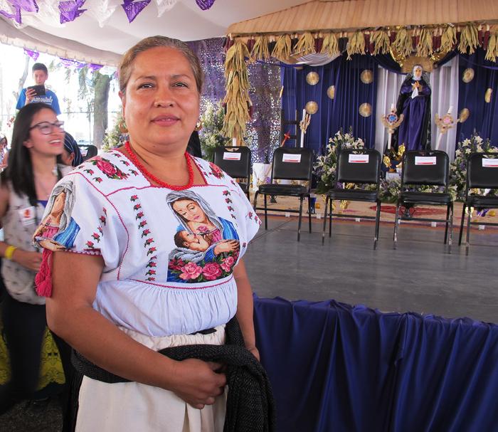 Encuentro Norma Alicia Urbina Blusa