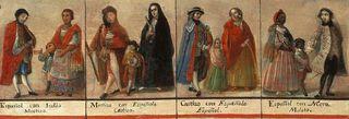 Encuentro Casta painting