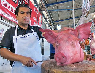 Hog Heaven Shaving the Pig