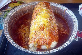 California-style burrito