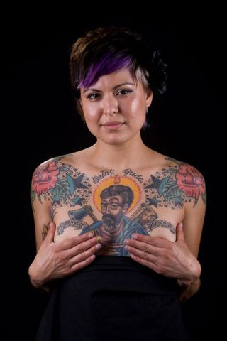 San Hipólito Saint Jude Tattoo