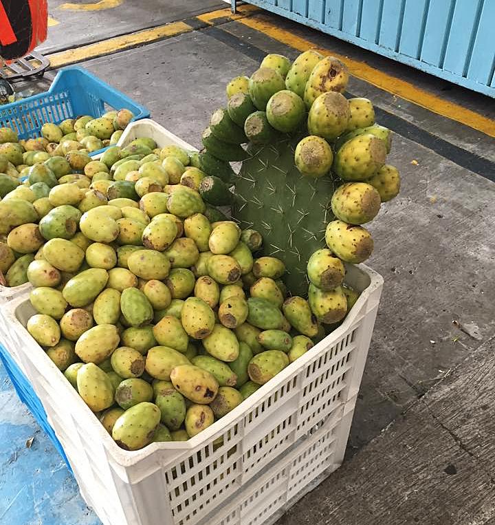 Mercado de Jamaica Nopales