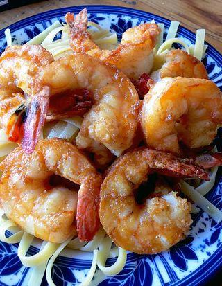 Shrimp Muenière Dec 2015