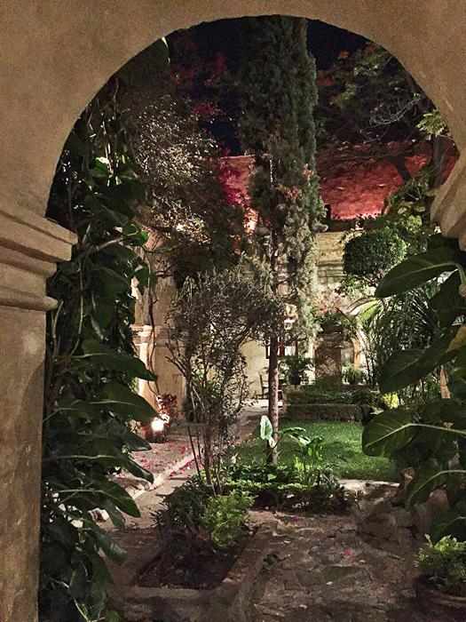 Oaxaca Moonlit Jardín Camino Real