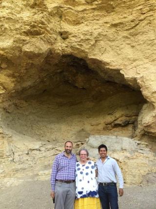 Cueva Rafa Cristina Gustavo