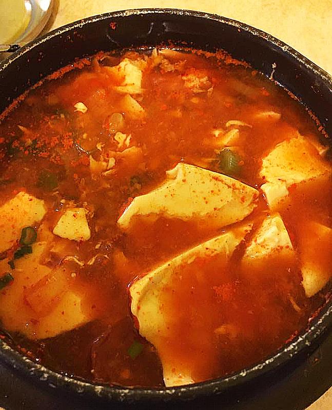 Korea Seafood Tofu