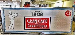 Veracruz La Parroquia Sign 2