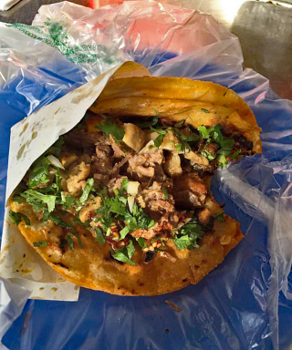 Tijuana Fito Taco de Tripas 1