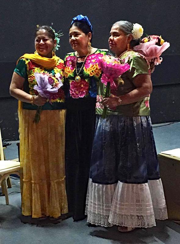 Tehuanas Primer Encuentro Oaxaca 25 abril 2017