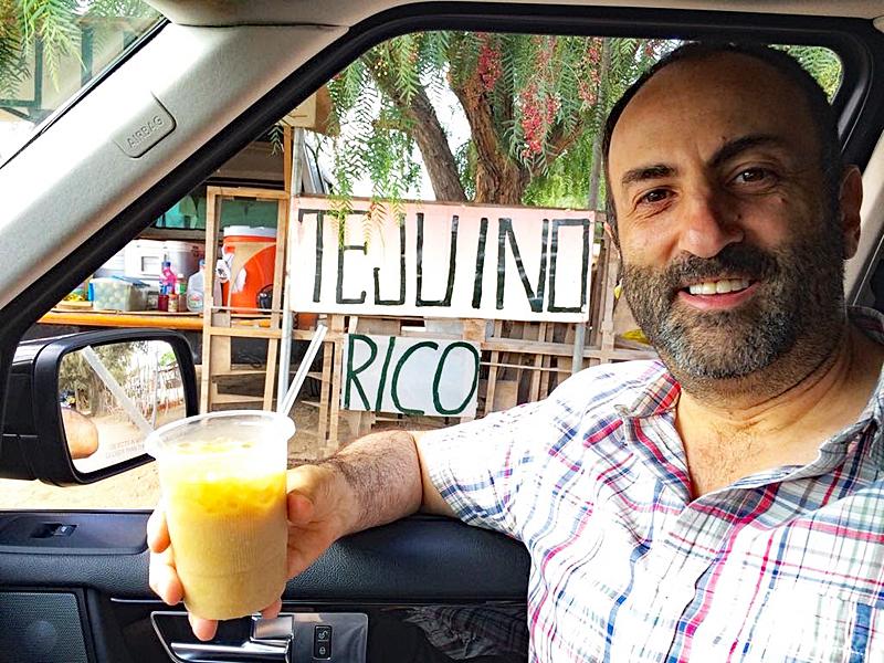VdeG Rafa con Tejuino MC