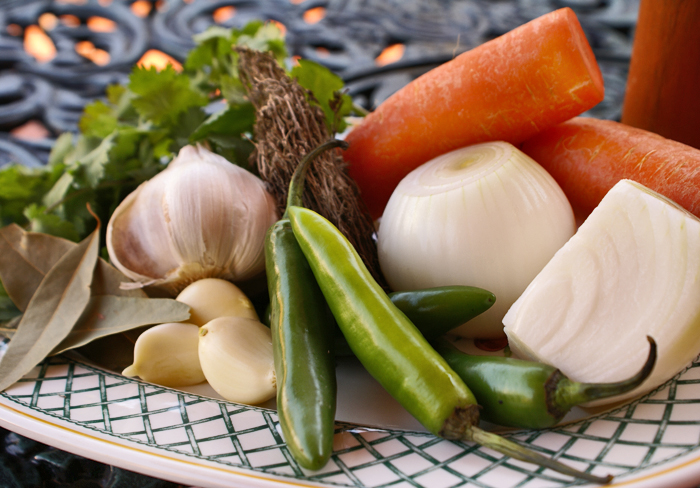 Seasoning Ingredients Caldo