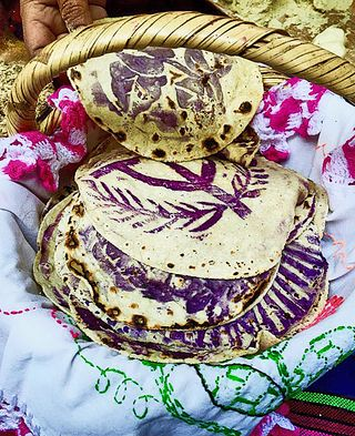 Ceremonial Tortillas from Guanajuato