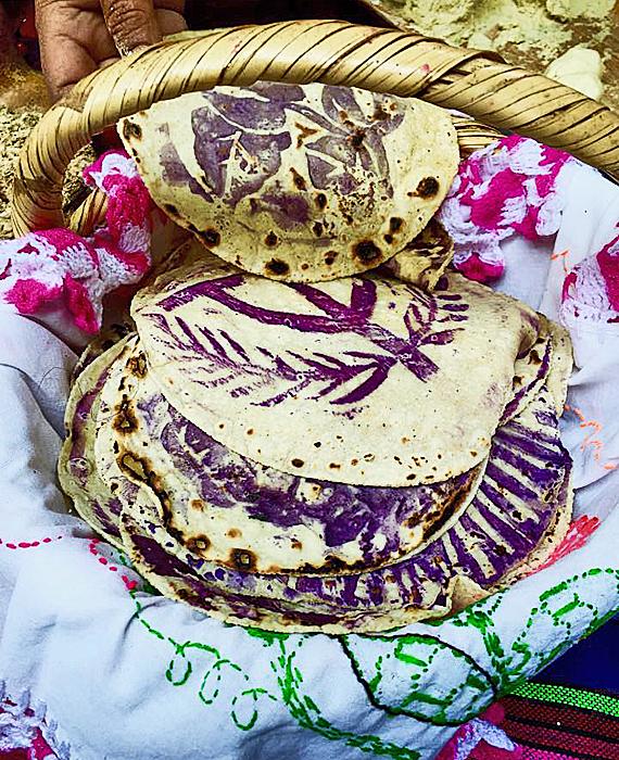 Ceremonial Tortillas from Guanajuato