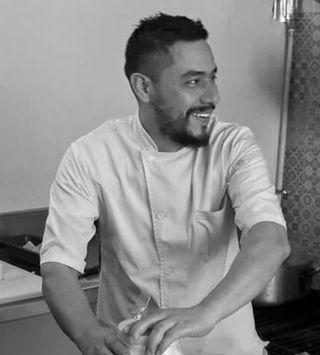 Chef Fernando BandW MC