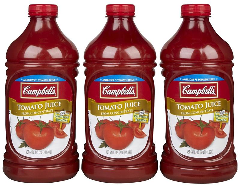 Michelada Campbells Tomato Juice