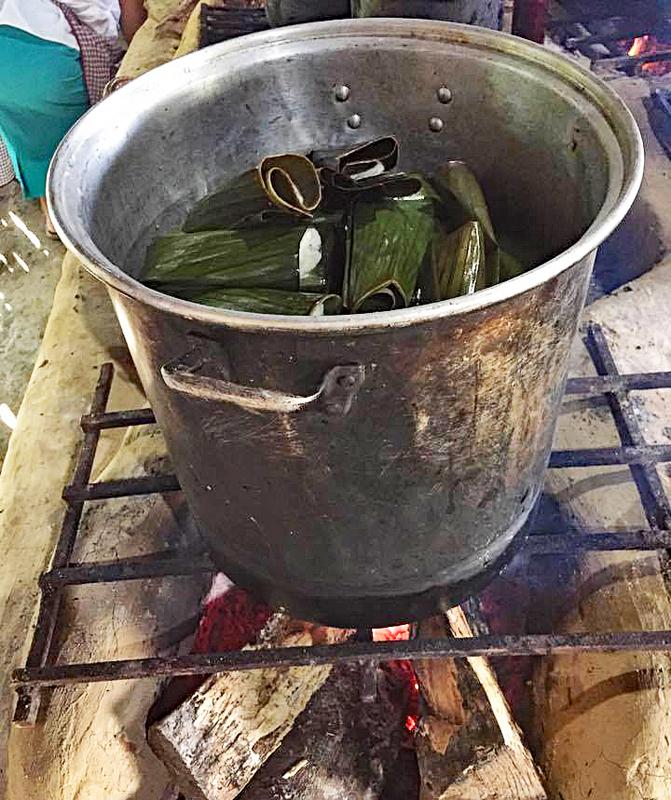 Papantla Martha Pintitos in the Pot