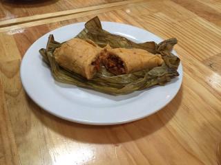 Oaxaca Restaurantes Zandunga Tamal de Cambray