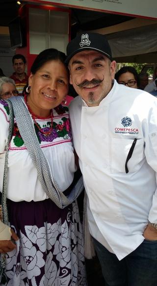 Rosalba con Aquiles 6-2016