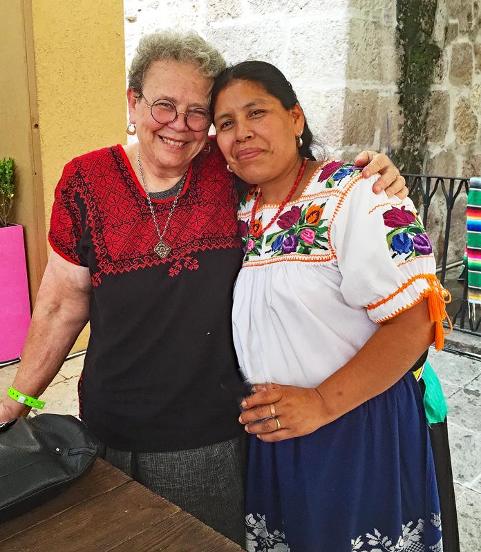 Rosalba con Cristina 2014