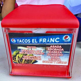 Tacos Franc Servilletero MC