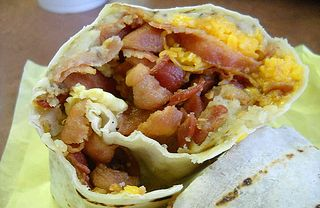 Breakfast burrito Jeff Miller