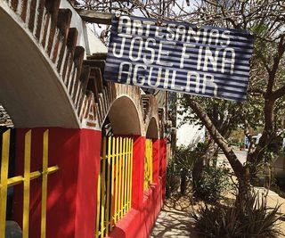 Casa Josefina Aguilar Sign MC