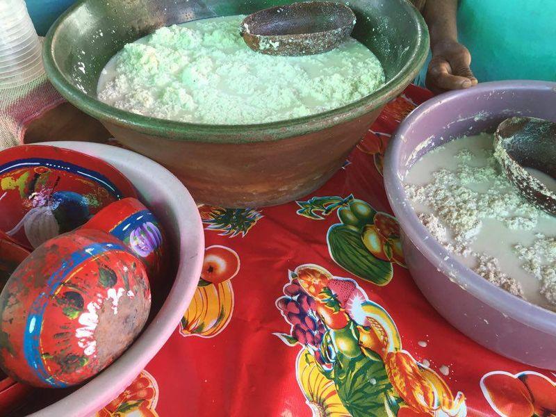 Mercado Tlacolula Tejate