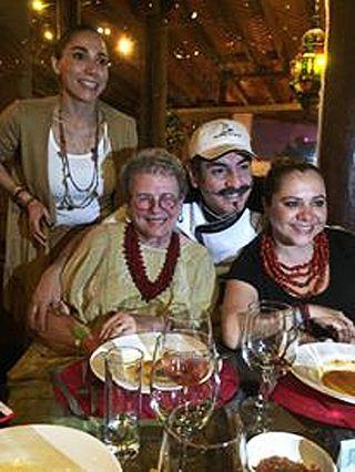 Cristina Cena de Gala Aquiles Chávez