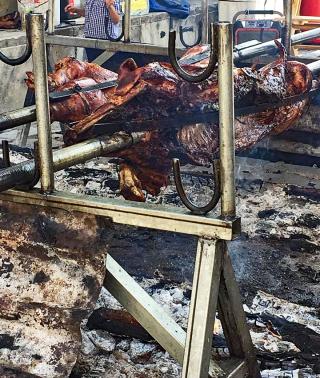 Encuentro Oaxaca Pig Roasting 1