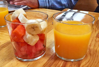 Oaxaca Restaurantes Zandunga Fruit and Juice 1