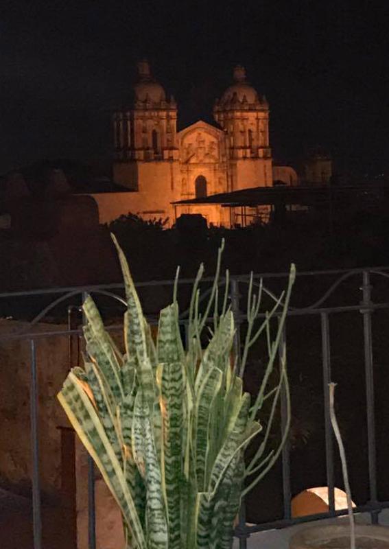 Encuentro Oaxaca Cena Mezquite