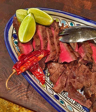 Kalisa's for Dinner Claudia's Steak Feb 2017 1
