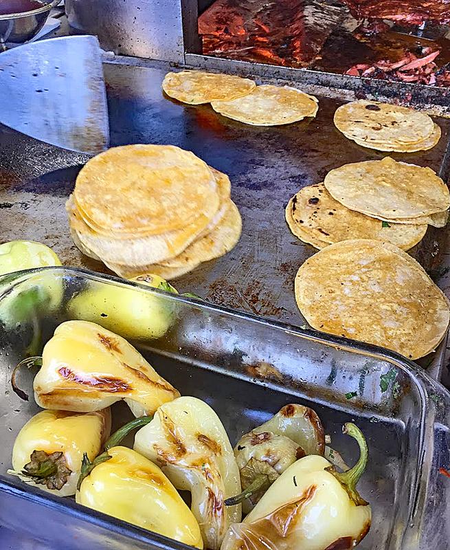 Tacos Franc Chiles Güero MC