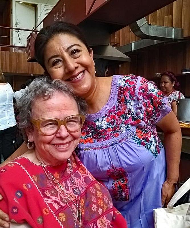 Cristina con Celia Florián 4-4-2018 1