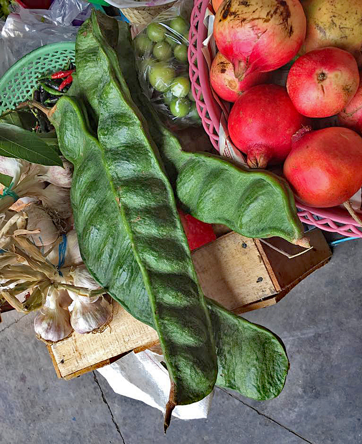 Oaxaca Mercado de la Merced Still Life with Chiles Verdura y fruta Oaxaqueña