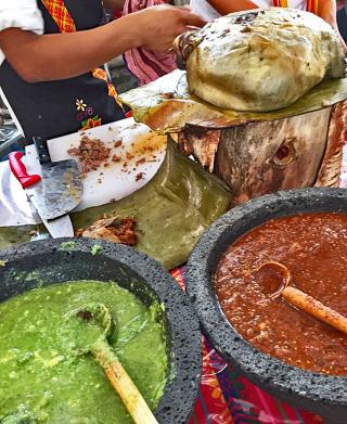 Encuentro Día 3 Panza Rellena con Salsas