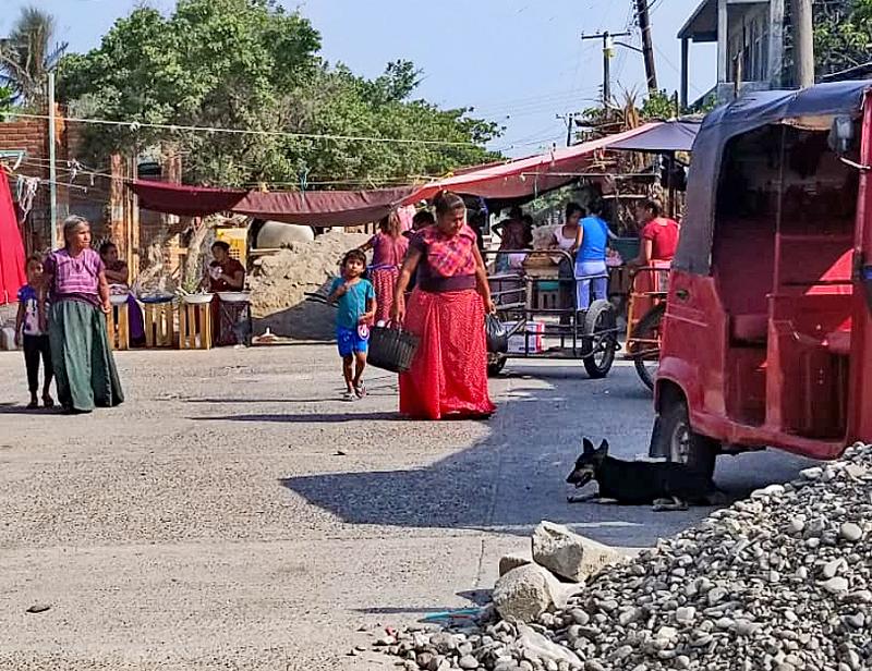 Silvana San Mateo del Mar Mercado