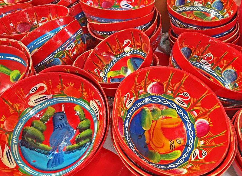 Tlacolula Jícaras Rojas